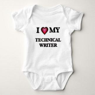 I love my Technical Writer Baby Bodysuit