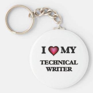 I love my Technical Writer Keychain
