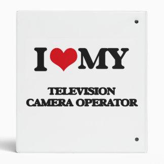 I love my Television Camera Operator Binders