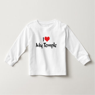 I Love My Temple T-Shirt