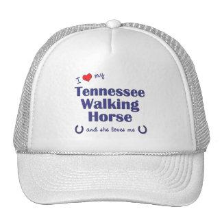 I Love My Tennessee Walking Horse (Female Horse) Hats