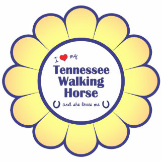 I Love My Tennessee Walking Horse (Female Horse) Statuette