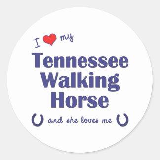 I Love My Tennessee Walking Horse (Female Horse) Sticker