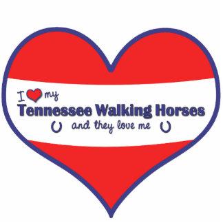 I Love My Tennessee Walking Horses (Multi Horses) Statuette