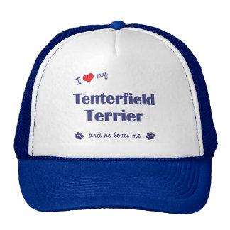 I Love My Tenterfield Terrier (Male Dog) Trucker Hat