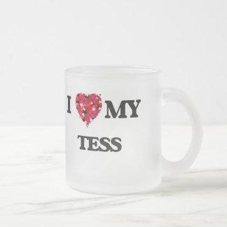 I love my Tess 10 Oz Frosted Glass Coffee Mug