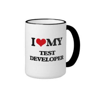 I love my Test Developer Coffee Mug