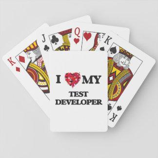 I love my Test Developer Poker Cards