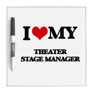 I love my Theater Stage Manager Dry Erase Whiteboard