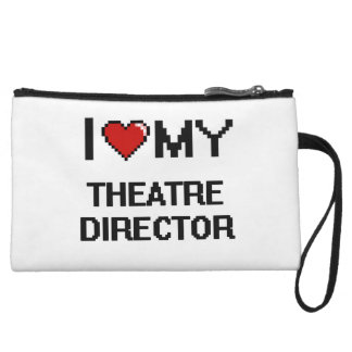 I love my Theatre Director Wristlet Clutches