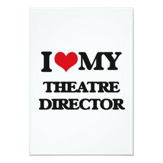 I love my Theatre Director Custom Invitation