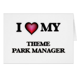 I love my Theme Park Manager Card