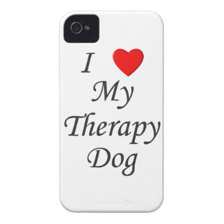 I Love My Therapy Dog Case-Mate Blackberry Case