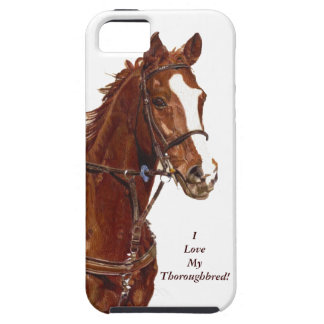 I Love My Thoroughbred! Horse iPhone 5 Case/Cover iPhone SE/5/5s Case