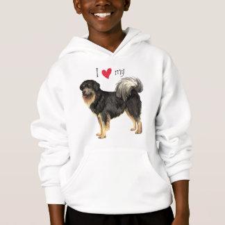I Love my Tibetan Mastiff Hoodie