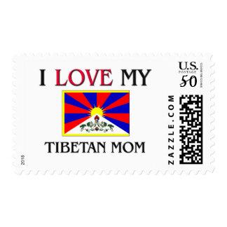 I Love My Tibetan Mom Postage