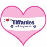 I Love My Tiffanies (Multiple Cats) Photo Cut Outs