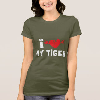 I Love My Tiger Dark T-Shirt
