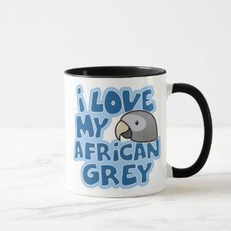 I Love My Timneh African Grey Mug
