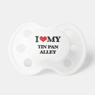 I Love My TIN PAN ALLEY BooginHead Pacifier