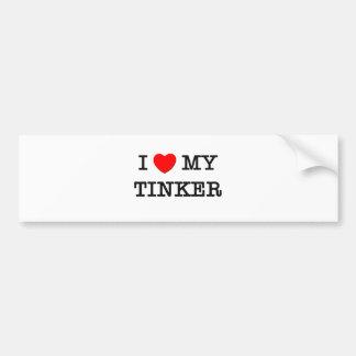 I Love My TINKER Bumper Sticker