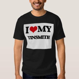I love my Tinsmith Tee Shirts