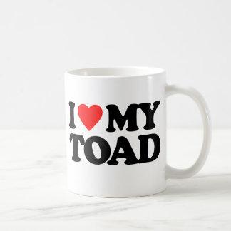 I LOVE MY TOAD COFFEE MUG