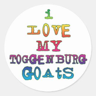 I Love My Toggenburg Goats Sticker