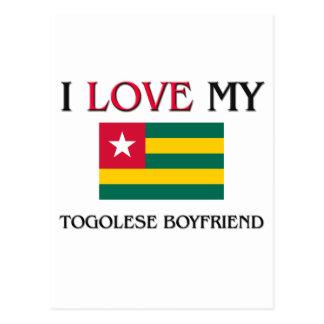 I Love My Togolese Boyfriend Postcard
