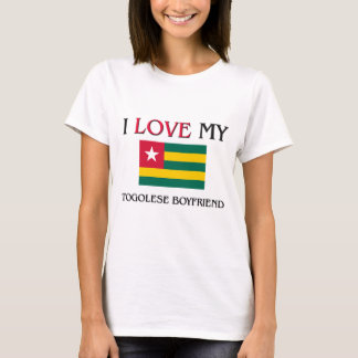 I Love My Togolese Boyfriend T-Shirt