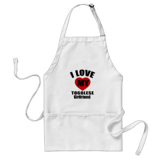 I LOVE MY TOGOLESE GIRLFRIEND ADULT APRON