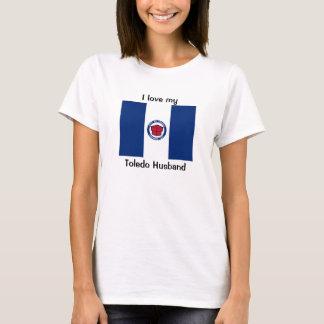 I love my Toledo Husband T-Shirt