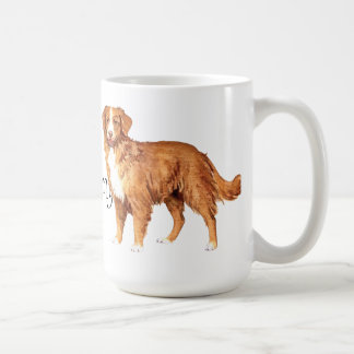 I Love my Toller Coffee Mug