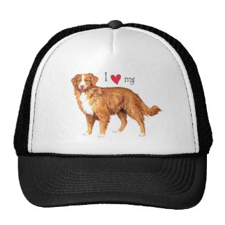 I Love my Toller Mesh Hats