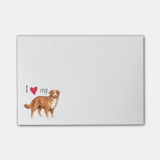 I Love my Toller Post-it® Notes