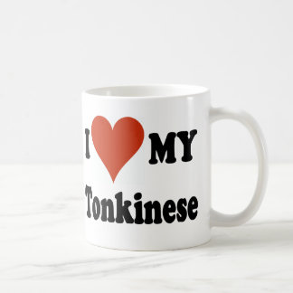 I Love My Tonkinese Cat Coffee Mug