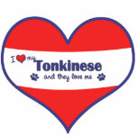 I Love My Tonkinese (Multiple Cats) Photo Cut Out