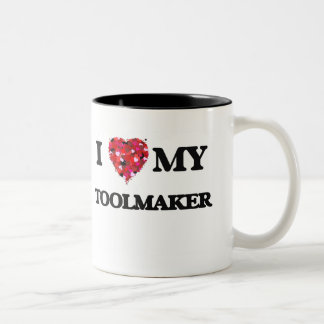 I love my Toolmaker Two-Tone Coffee Mug