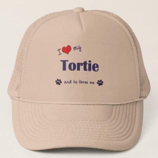 I Love My Tortie (Male Cat) Trucker Hat