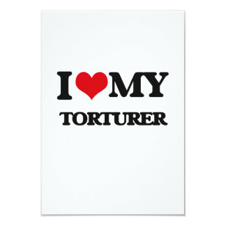 I love my Torturer Personalized Announcements