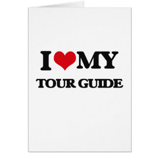 I love my Tour Guide Cards