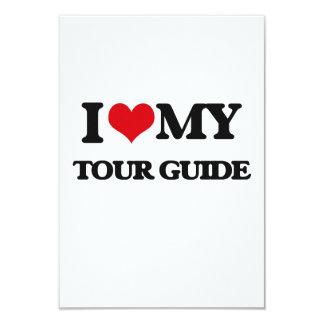 I love my Tour Guide Invites