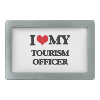 I love my Tourism Officer Rectangular Belt Buckles