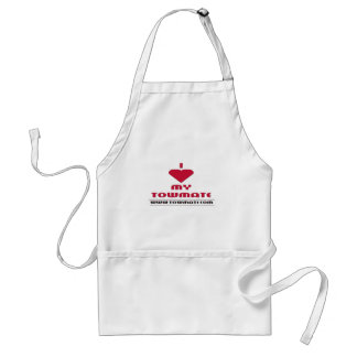 I LOVE MY TOWMATE Promotional Products Adult Apron