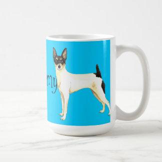 I Love my Toy Fox Terrier Classic White Coffee Mug