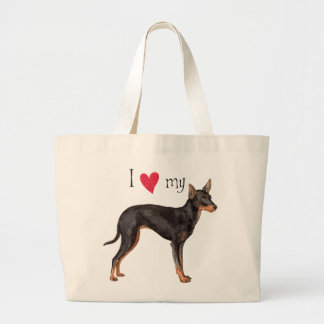 I Love my Toy Manchester Terrier Bag