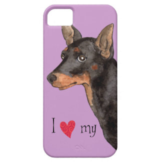 I Love my Toy Manchester Terrier iPhone SE/5/5s Case