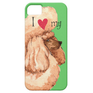 I Love my Toy Poodle iPhone SE/5/5s Case