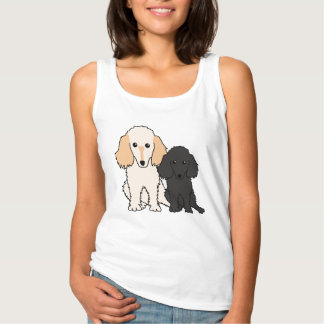 I Love My Toy Poodles Tank Top