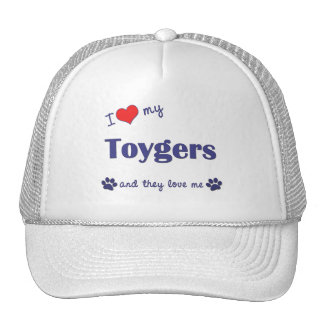 I Love My Toygers (Multiple Cats) Mesh Hat